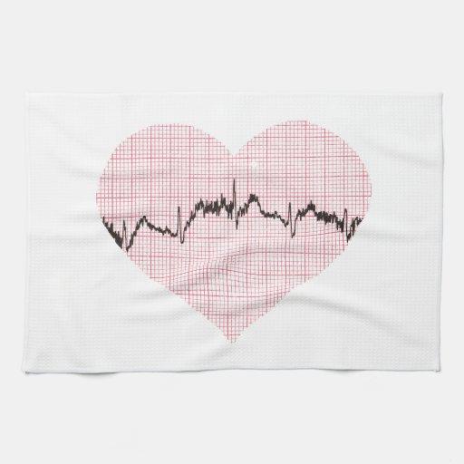 Golpe de corazón III Toallas