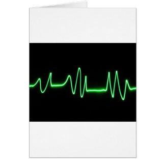 Golpe de corazón tarjetas