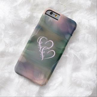 Golpe de dos corazones como un iPhone 6 casos Funda Para iPhone 6 Barely There