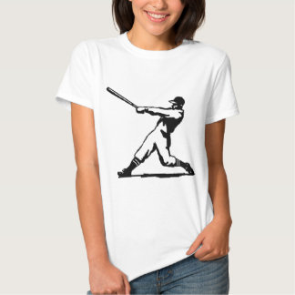 Golpe del béisbol camisas