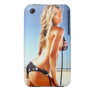Golpe del bikini de Australia - caja del teléfono Funda Para iPhone 3 De Case-Mate