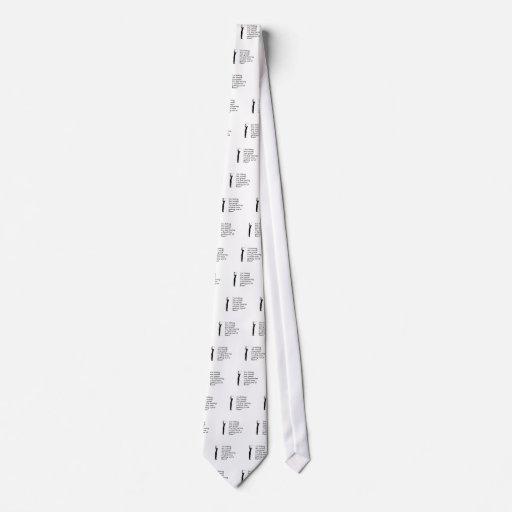 Golpe del diseño del golf de maderas corbata personalizada