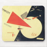 Golpe del EL Lissitzky- los blancos con la cuña ro Tapete De Raton