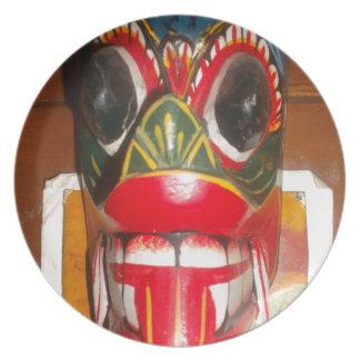 Golpe gifts jp de Halloween del cráneo de Hakuna M Platos De Comidas