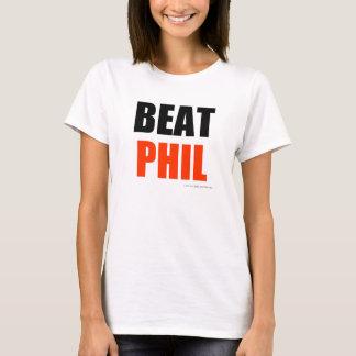Golpe Phil (colores del lt) Playera