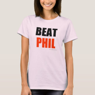 Golpe Phil - rojo (colores del lt) Playera