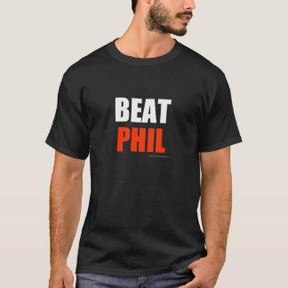 Golpe Phil - rojo (colores oscuros) Playera