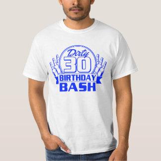 Golpe sucio de 30 cumpleaños playera