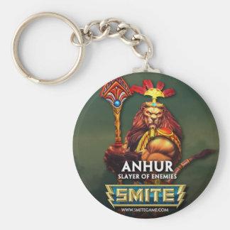 GOLPE VIOLENTO: Anhur, asesino de enemigos Llavero Redondo Tipo Pin