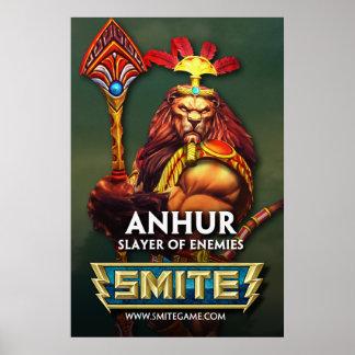 GOLPE VIOLENTO: Anhur, asesino de enemigos Póster