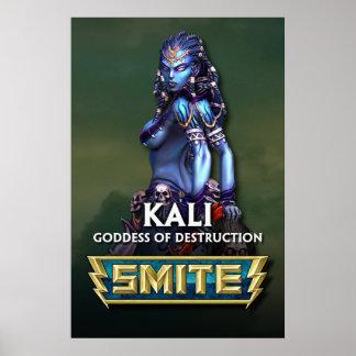 GOLPE VIOLENTO: Kali, diosa de la destrucción Póster