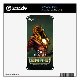 GOLPE VIOLENTO: Ra, dios de The Sun Calcomanía Para El iPhone 4