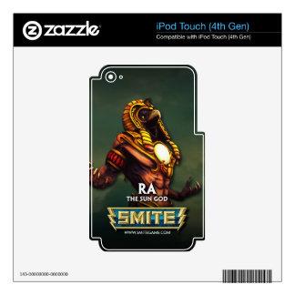 GOLPE VIOLENTO: Ra, dios de The Sun Skins Para iPod Touch 4G
