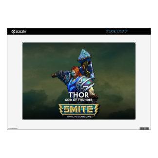 GOLPE VIOLENTO: Thor, dios del trueno Calcomanías Para Portátiles