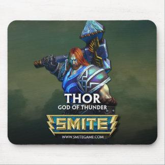 GOLPE VIOLENTO: Thor, dios del trueno Alfombrilla De Ratón