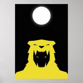 GOLPE VIOLENTO - Xbalanque - Jaguar ocultado Sun Posters