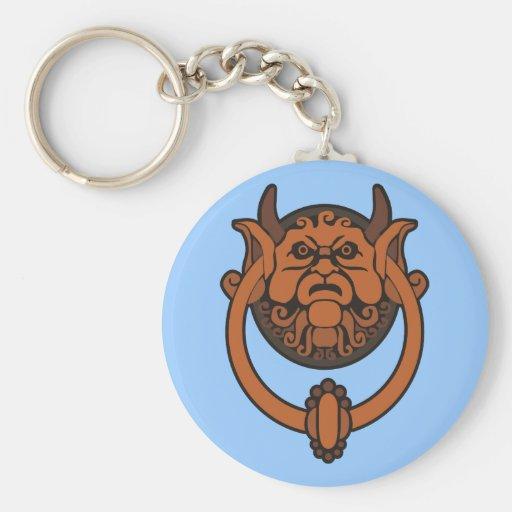 Golpeador de puerta del Goblin Llavero