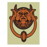 Golpeador de puerta del Goblin Postales