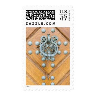 Golpeador de puerta del palacio de Schwarzenbersky Estampillas
