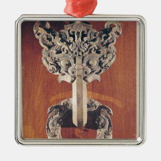 Golpeador de puerta del shou de P'u con un diseño  Adornos De Navidad