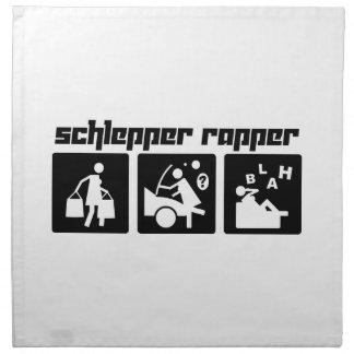 Golpeador de Schlepper Servilleta