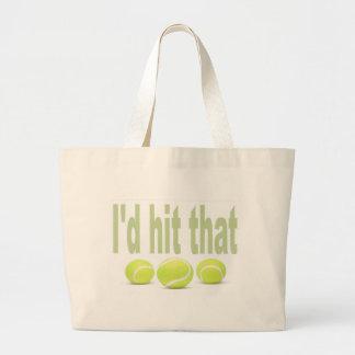 Golpearía ese tenis bolsas