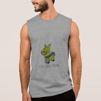 Golpearía eso divertido camisetas sin mangas
