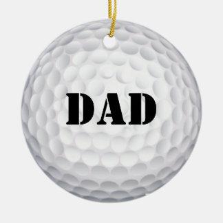 ¡Golpearía eso! Pelota de golf Adorno De Reyes