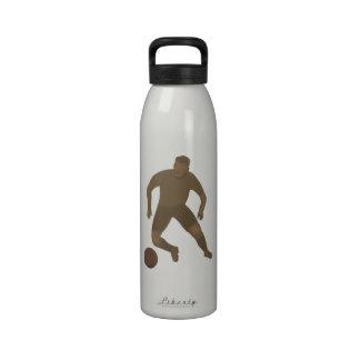 Golpee con el pie que la botella de la libertad de botella de agua