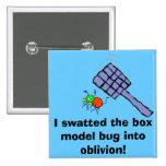 ¡Golpeé con fuerza el insecto del boxmodel en el o Pin