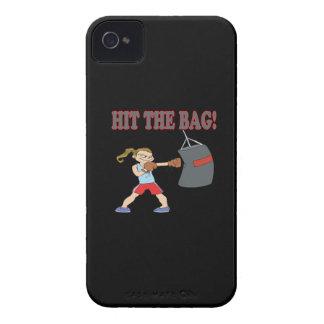 Golpee el bolso Case-Mate iPhone 4 fundas
