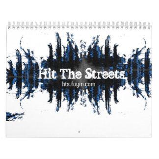 Golpee el calendario de las calles