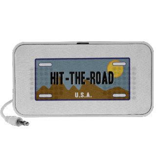 Golpee el camino iPod altavoz