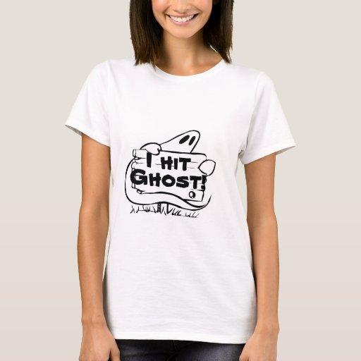 "Golpeé el fantasma ""camisa divertida del fantasma playera"