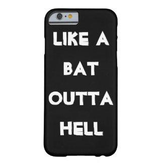 Golpee fuera del humor divertido 2 salvajes del funda de iPhone 6 barely there