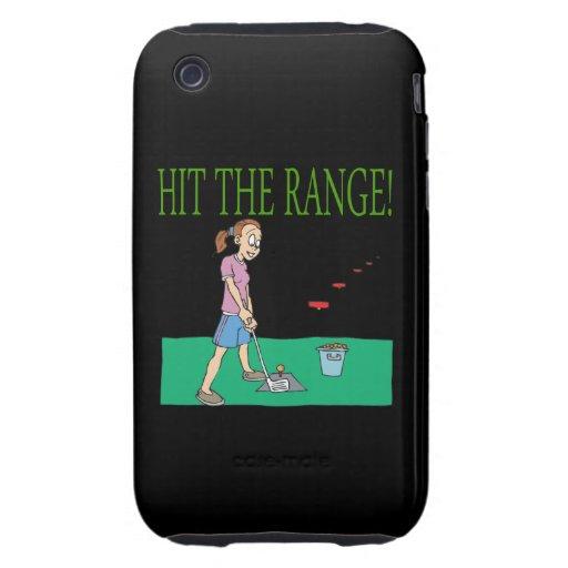Golpee la gama iPhone 3 tough cobertura