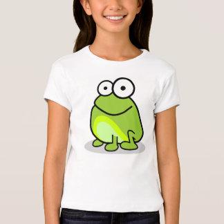 Golpee ligeramente la rana - camiseta de los niños
