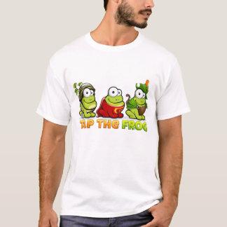 Golpee ligeramente la rana - camiseta del muchacho