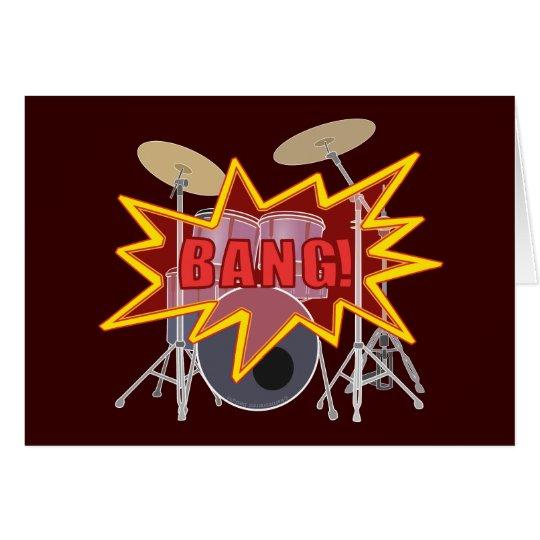 ¡Golpee sus tambores! Tarjeta De Felicitación