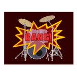 ¡Golpee sus tambores! Tarjetas Postales