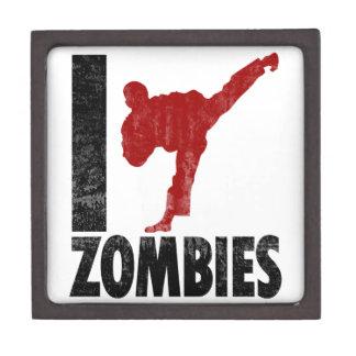 Golpeo a zombis con el pie cajas de regalo de calidad