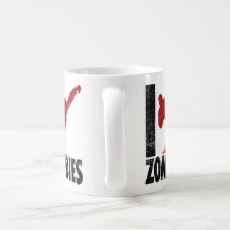 Golpeo a zombis con el pie taza de café