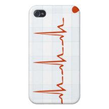 Golpeo del monitor de corazón iPhone 4 carcasa