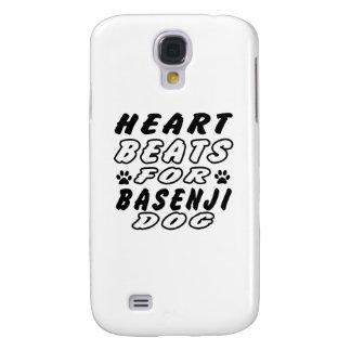 Golpes de corazón para Basenji Funda Para Galaxy S4