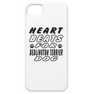 Golpes de corazón para Bedlington Terrier iPhone 5 Case-Mate Protector