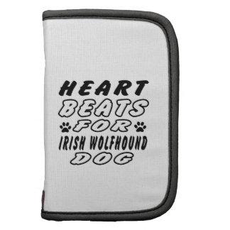 Golpes de corazón para el Wolfhound. irlandés Organizadores