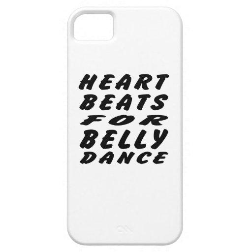 Golpes de corazón para la danza de Belly iPhone 5 Carcasa