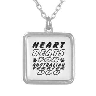 Golpes de corazón para Terrier australiano Joyerias Personalizadas