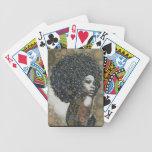 Golpes de los años 70 barajas de cartas