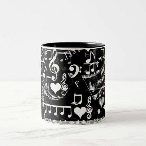 Golpes de mi heart_ tazas de café